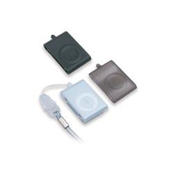 Z-253 (クリアー/スモーク/ブラック ) [iPod shuffle(aluminum)専用 シリコンソフトケース3色セット ネックストラップ付き]