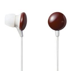 EHP-AIN60BR (ブラウン) [カナルタイプ インナーイヤーヘッドホン] EAR DROPS COLORS
