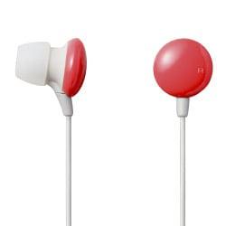 EHP-AIN60RD (レッド) [カナルタイプ インナーイヤーヘッドホン] EAR DROPS COLORS