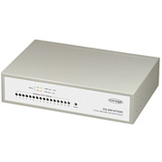 CG-SW16TXSR [100BASE-TX/10BASE-T 16ポート搭載 メタル筐体 コンパクトサイズ スイッチングハブ]
