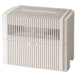 加湿器(ディスク気化式) LW44-WJ(ホワイト)(加湿40畳まで 空清24畳まで) エアウォッシャー