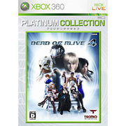 DEAD OR ALIVE 4(デッド オア アライブ) Xbox 360 プラチナコレクション [XB360ソフト]