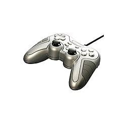 BGCMUCF1206SV [モーションセンサー付 デジタル&アナログ USBゲームパッド 12ボタン シルバー]