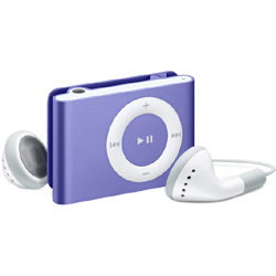 MB233J/A(パープル) [メモリーオーディオ 1GB] iPod shuffle