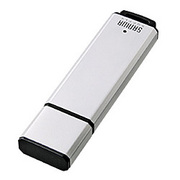 UFD-A1G2SV [USB2.0フラッシュディスク 1GB シルバー]