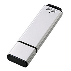 UFD-A4G2SV [USB2.0フラッシュディスク 4GB シルバー]
