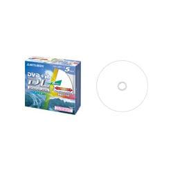DTR85HP5 [データ用DVD+R DL 8.5GB 8倍速 インクジェットプリンタ対応 ワイドエリア ホワイトレーベル 5枚]