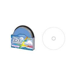 DTR85HP10S [DVD+R 8.5GB 片面2層 2.4~8倍速対応 ワイドエリア印刷対応 スピンドルケース入り 10枚]