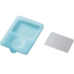 AVD-SCA3NBU (ブルー) [3rd iPod nano用保護フィルム付きシリコンケース]