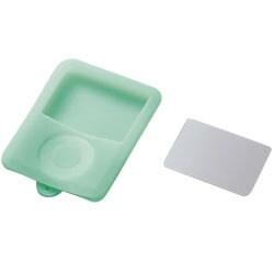 AVD-SCA3NGN (グリーン) [3rd iPod nano用保護フィルム付きシリコンケース]