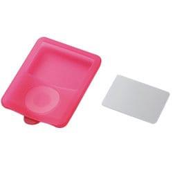AVD-SCA3NRD (レッド) [3rd iPod nano用保護フィルム付きシリコンケース]