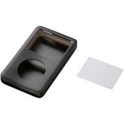 AVD-SCA6G16BK (ブラック) [iPod classic 160GB用 シリコンケース 液晶保護フィルム付]