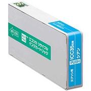 ECI-E35C [エプソン ICC35 互換リサイクルインクカートリッジ シアン]