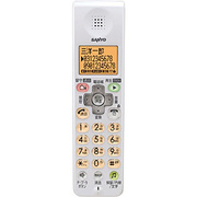 TEL-SDJ8(W) [別売増設子機(漢字表示) クリーミーホワイト]