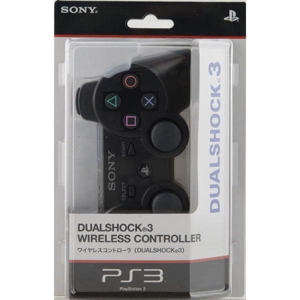 ワイヤレスコントローラ DUALSHOCK3 ブラック CECH-ZC2J [PS3用]