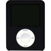PNC-12 [第3世代 iPod nano用シリコーンジャケットセット マットブラック]