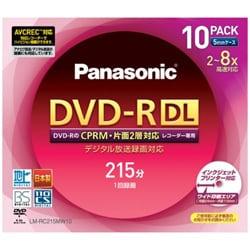 LM-RC215MW10 [録画用DVD-R 215分 2-8倍速 10枚 CPRM対応 インクジェットプリンター対応]
