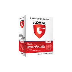 G DATA インターネットセキュリティ2008 1ユーザー [Windowsソフト]