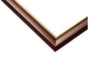 ウッディパネル ゴールドライン 09-T ブラウン [950P(34×102cm用)]