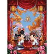 ジグソー D1000-330 ディズニー 婚礼衣装のふたり(中国夢紀行) 1000ピース [1000P(51×73.5cm)]