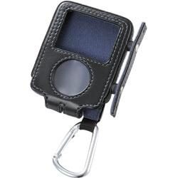 AVD-LCRA3NBK (ブラック) [iPod nano 3rd用 ソフトレザーケース]