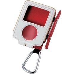 AVD-LCRA3NRD (レッド) [iPod nano 3rd用 ソフトレザーケース]