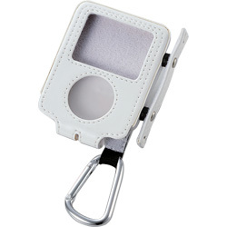 AVD-LCRA3NWH (ホワイト) [iPod nano 3rd用 ソフトレザーケース]