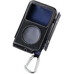 AVD-LCRA6G16BK (ブラック) [iPod classic 160G用 巻取りソフトレザーケース]