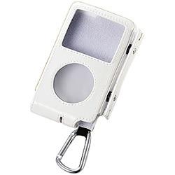 AVD-LCRA6G8WH (ホワイト) [iPod classic 80G用 巻取りソフトレザーケース]