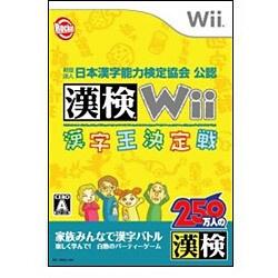 財団法人日本漢字能力検定協会公認 漢検Wii -漢字王決定戦- [Wiiソフト]
