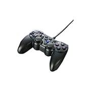 BSGPCP1201BK [振動&連射機能付 PS3/アナログ/デジタル USBゲームパッド 12ボタン ブラック]