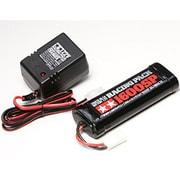 55096 7.2Vレーシングパック1600SPと充電器セット [ラジコン用部品]