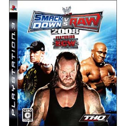 WWE 2008 SmackDown vs Raw [PS3ソフト]