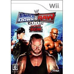 WWE 2008 SmackDown vs Raw [Wiiソフト]