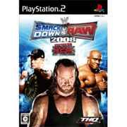 WWE 2008 SmackDown vs Raw [PS2ソフト]