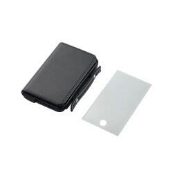 AVD-LCRA1TBK (ブラック) [iPod touch用 ソフトレザーケース]