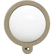 ZSL-MKG [ガーデンライト グレー 電池式ガーデンセンサーLEDライト 壁付灯 丸型]