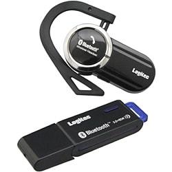 LBT-HS111C2 [Bluetooth 2.0+EDR対応 ハンズフリーヘッドセット USBアダプタ セットモデル]