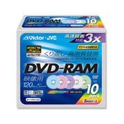 VD-M120NX10 [録画用DVD-RAM 120分 2-3倍速 CPRM対応 10枚 インクジェットプリンタ対応]