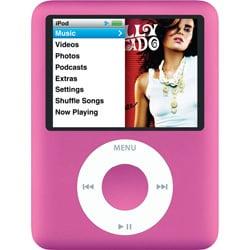 MB453J/A (ピンク) [メモリーオーディオ 8GB] iPod nano 3rd