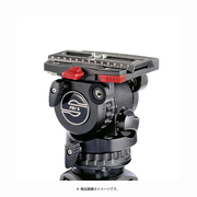 SC 0407 FSB 6 ザハトラービデオヘッド75mm