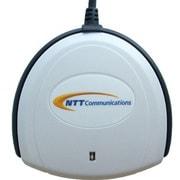 SCR3310-NTTCom [公的個人認証サービス対応ICカードリーダライタ 接触式ICカード USBタイプ]