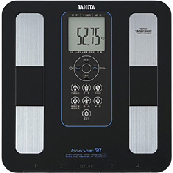 体脂肪体重計 BC-305-BK(ブラック) インナースキャン50