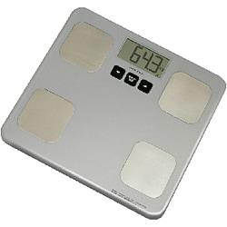 体脂肪体重計 BS-213SV(シルバー) 体重体組成計 ウェーブ