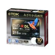 DR215DPWB10S [録画用DVD-R DL 215分 2-8倍速 CPRM対応 10枚 インクジェットプリンタ対応]