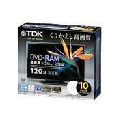 DRAM120DPB5S [録画用DVD-RAM 120分 2-3倍速 CPRM対応 5枚 インクジェットプリンタ対応]