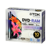DRAM120DPB10U [録画用DVD-RAM 120分 2-3倍速 CPRM対応 10枚 インクジェットプリンタ対応]