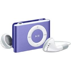MB526J/A(パープル) [メモリーオーディオ 2GB] iPod shuffle