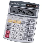 D-2840T [ビッグディスプレイ電卓 セミデスクサイズ 10桁]
