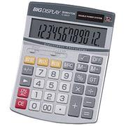 D-2850T [ビッグディスプレイ電卓 セミデスクサイズ 12桁]